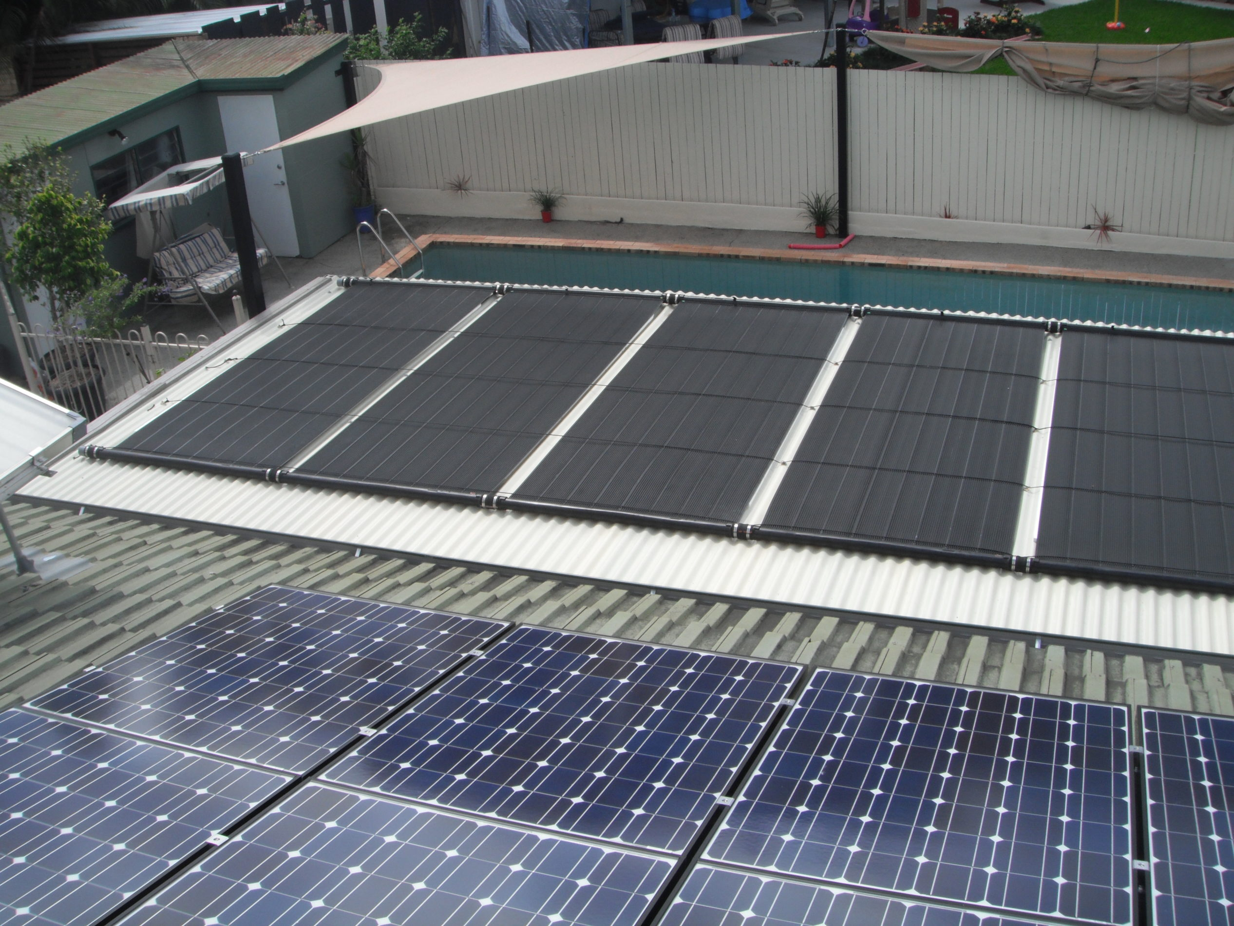 Ecosun pool solar panels green energy needs for Swimming pool heating system design