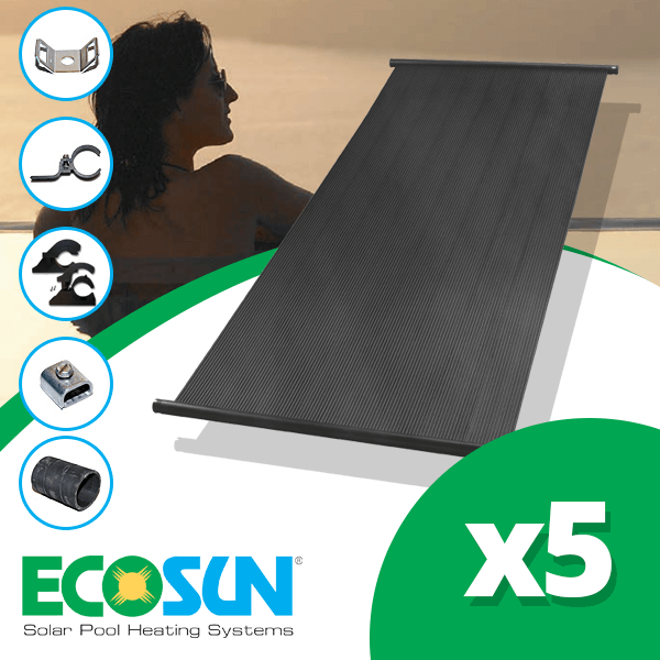 Up To 21m2 Pool Ecosun 174 Diy Kit Inc Pump And Solar