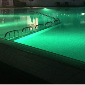 LED POOL & SPA LIGHT-GREEN-SURFACE MOUNT-FREE DELIVERY